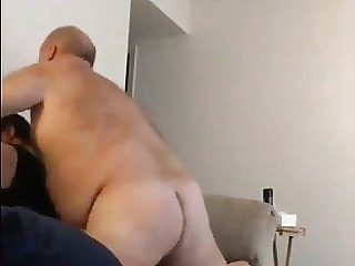 Daddy Gets His Arse Pounded. bear (gay) big cock (gay) daddy (gay)