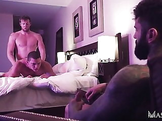 Markus Kage, Ryan Stone and Jay Dymel (FF P1) bareback (gay) group sex (gay) hunk (gay)