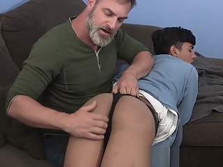 Young gay latino cums hard breeding with hairy stepdaddy 8:30 2019-11-20