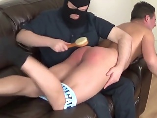 Fabulous amateur gay video with Spanking, BDSM scenes gay bdsm fetish