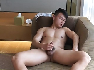 CHINESE HOTTIE JO WEBCAM 125 cumshot big cock amateur