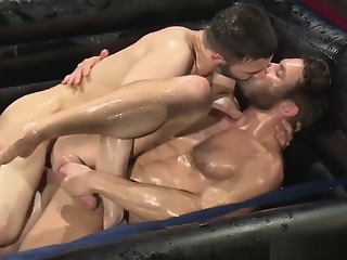 oil wrestling fetish gay hd