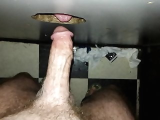 Str8 Boy View Dirty Gloryhole Suckoff in Bookstore amateur blowjob glory hole
