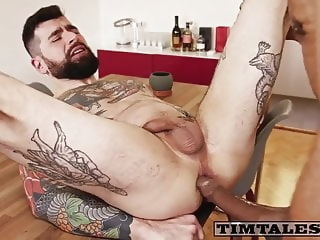 TT Jamal and oscar black bareback big cock