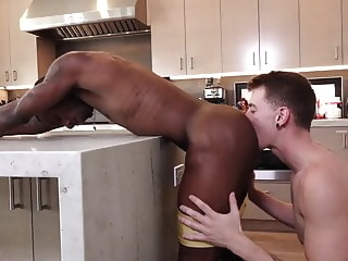 Guys in Sweatpants - Dante's deep dicking black bareback big cock