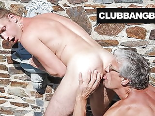 Grandpa cleans up Twink's Sweaty Ass Hole twink (gay) amateur (gay) bareback (gay)