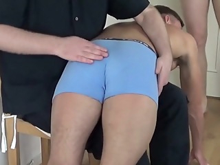 Incredible homemade gay video with Spanking, Threesomes scenes 36:33 2017-11-05