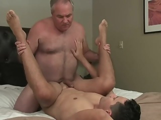 bear big cock blowjob