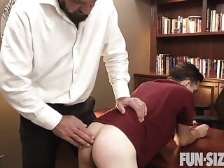 Fun Size Boys - Principal's Office twink big cock daddy